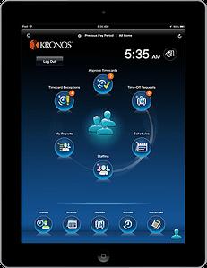 Kronos Workforce Tablet