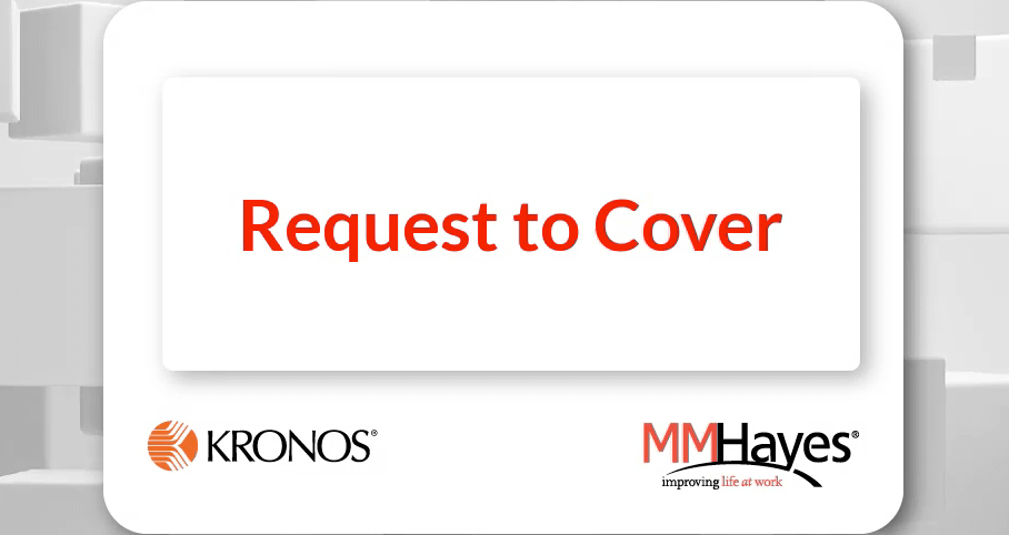 Request to Cover