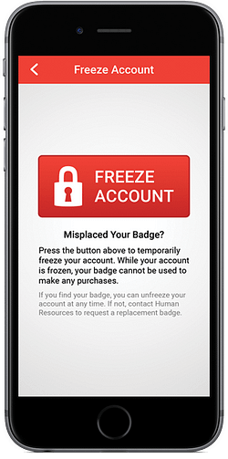 Freeze Account