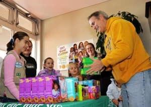 Cashless Payment for Girl Scout Cookies