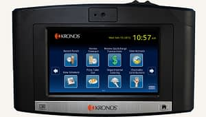 kronos in touch time clock