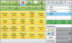 pos solutions for hospital gift shops