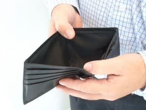 empty wallet photo