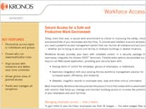 Kronos and Workforce Access