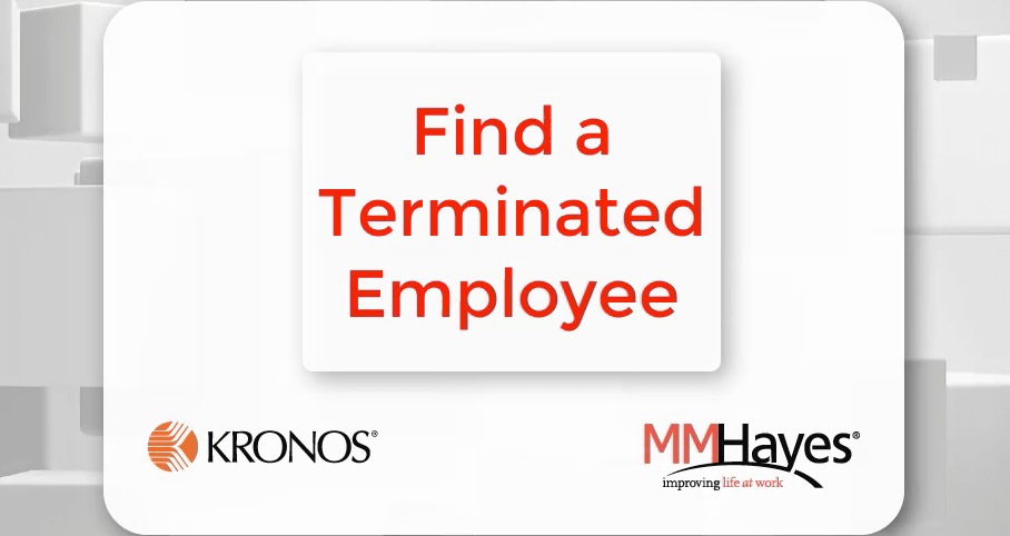 Find a Terminated Employee