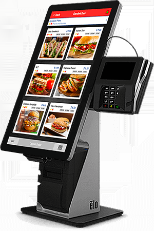 Quickcharge Point-of-Sale Kiosk