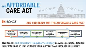 Preparing for the affordable care act