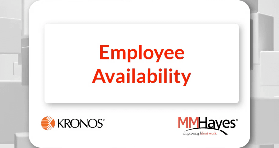 Employee Availability Request