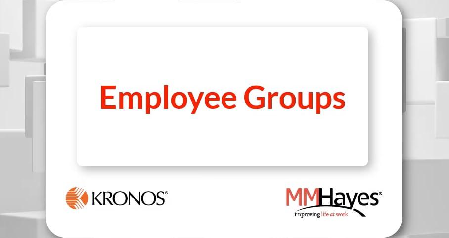 Employee Groups