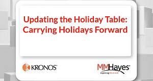 Updating the Holiday Table