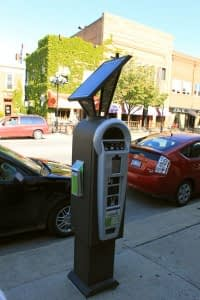 cashless parking meters PayByPhone