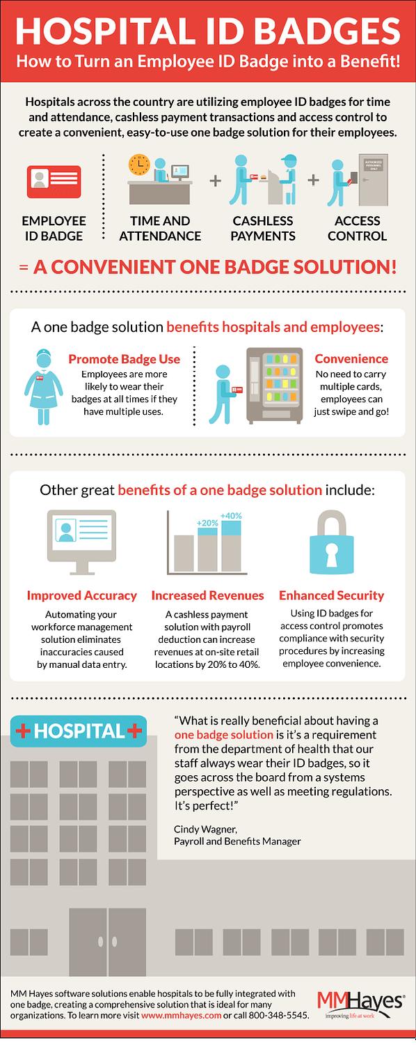 one employee id badge solution