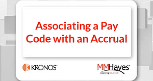 Associating a Pay Code with an Accrual