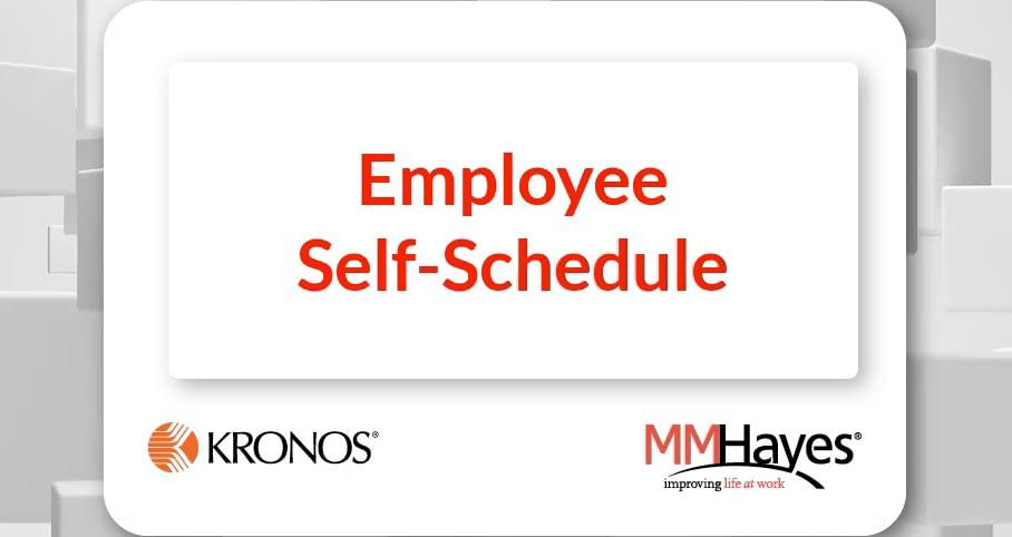 Employee Self-Schedule