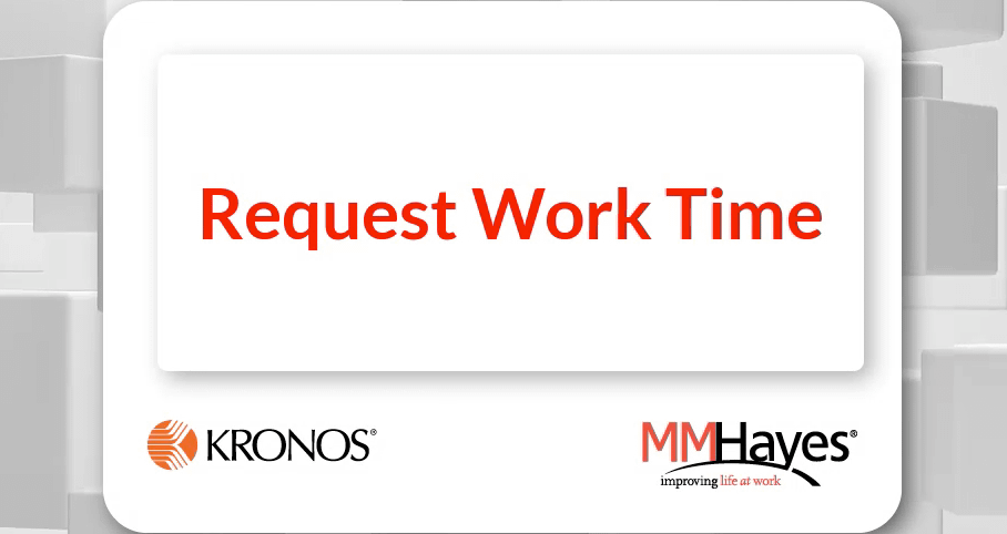 Request Work Time