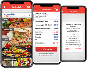 Mobile Ordering App and self service