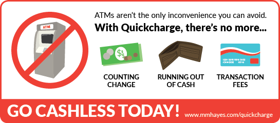 ATMs aren't the only inconvenience you can avoid by going cashless.