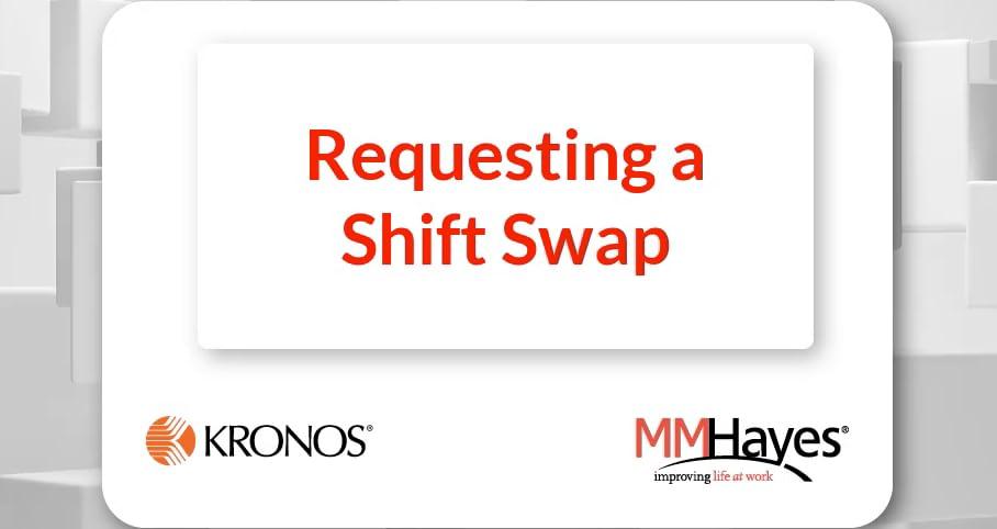 Request a Shift Swap